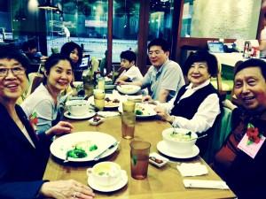 David's family in Taiwan