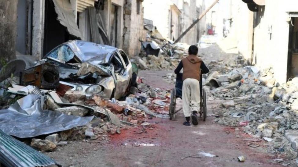 A Street in Aleppo