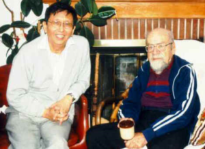 Paul T. P. Wong with Joseph Fabry in his home