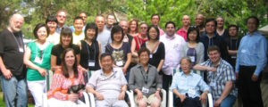 The Toronto Meaningful Living Meetup Group in our backyard on Victoria Day.